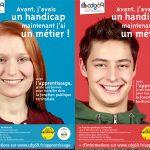 Campagne Publicitaire Apprentissage et Handicap