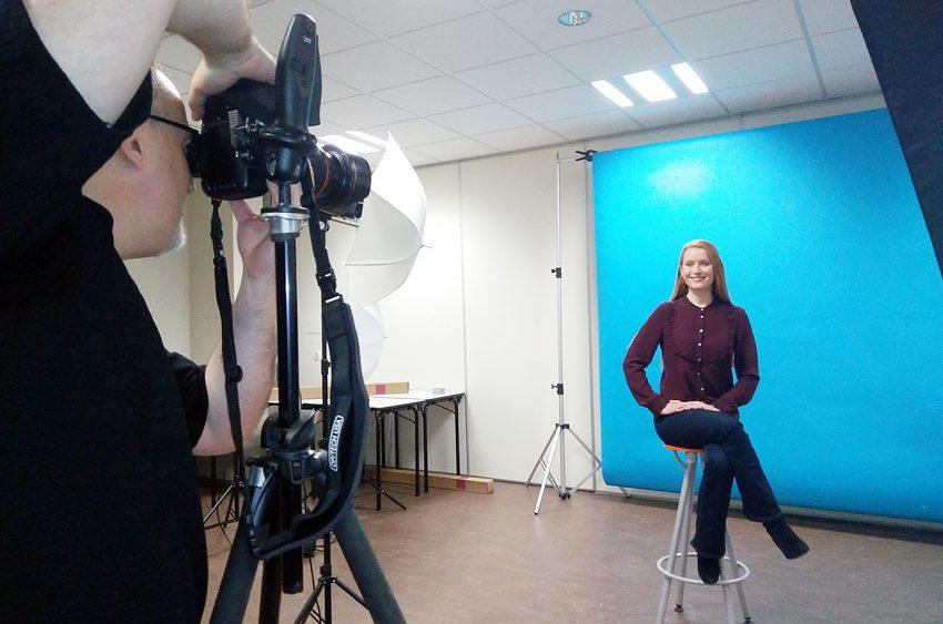 Séance Photo Portrait Publicitaire avec Denis Chaussende Photographe