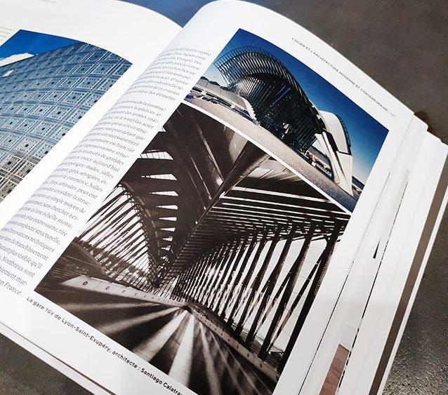 Photographies Gare Saint-Exupery Satolas Lyon Denis Chaussende dans le livre Savoir & Faire - Le Métal