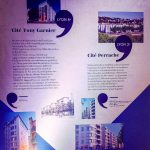 Une scénographie intéressante : Panneaux Résidences Grand Lyon Habitat à l'occasion des 100 ans