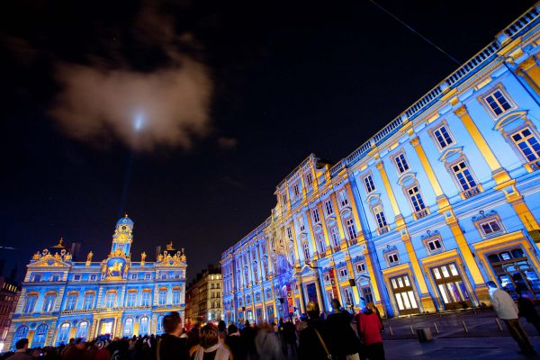 Place des Terreaux Fête des Lumières 2008 Lyon